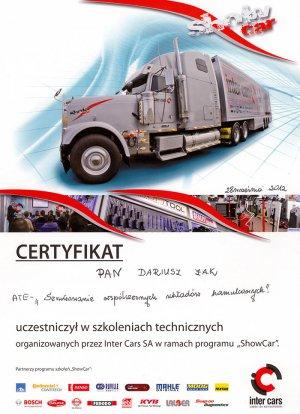 Certyfikat ATE
